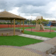 Artificial Grass for schools Whitings Hill