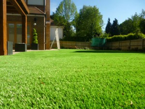 Artificial grass for the home - slide 2